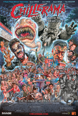 Chillerama Movie Poster by Phil Roberts