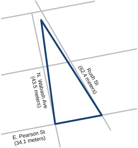 Non-right Triangles: Law of Cosines · Algebra and Trigonometry