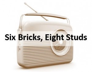 Radio Six Bricks Eight Studs