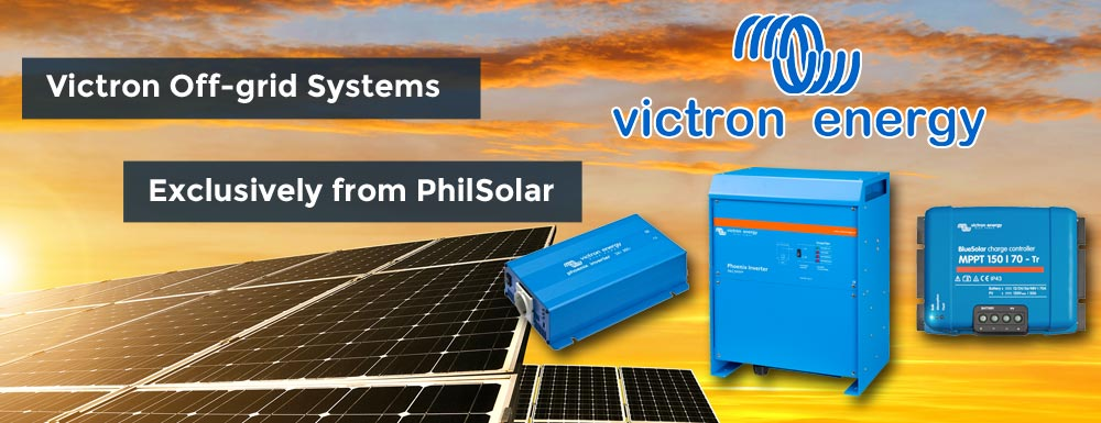 victron energy off grid solar power products philippines