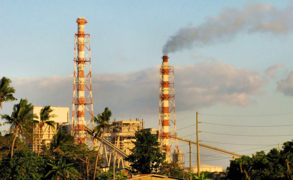 Coal-fired power plant in Calaca Batangas