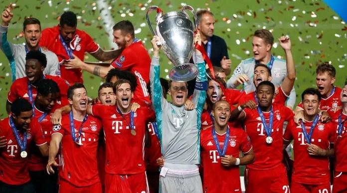 Champions League Winner Bayern Munich