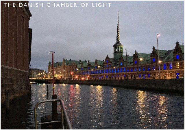 Copenhagen Light Festival. The Danish Chamber of Light