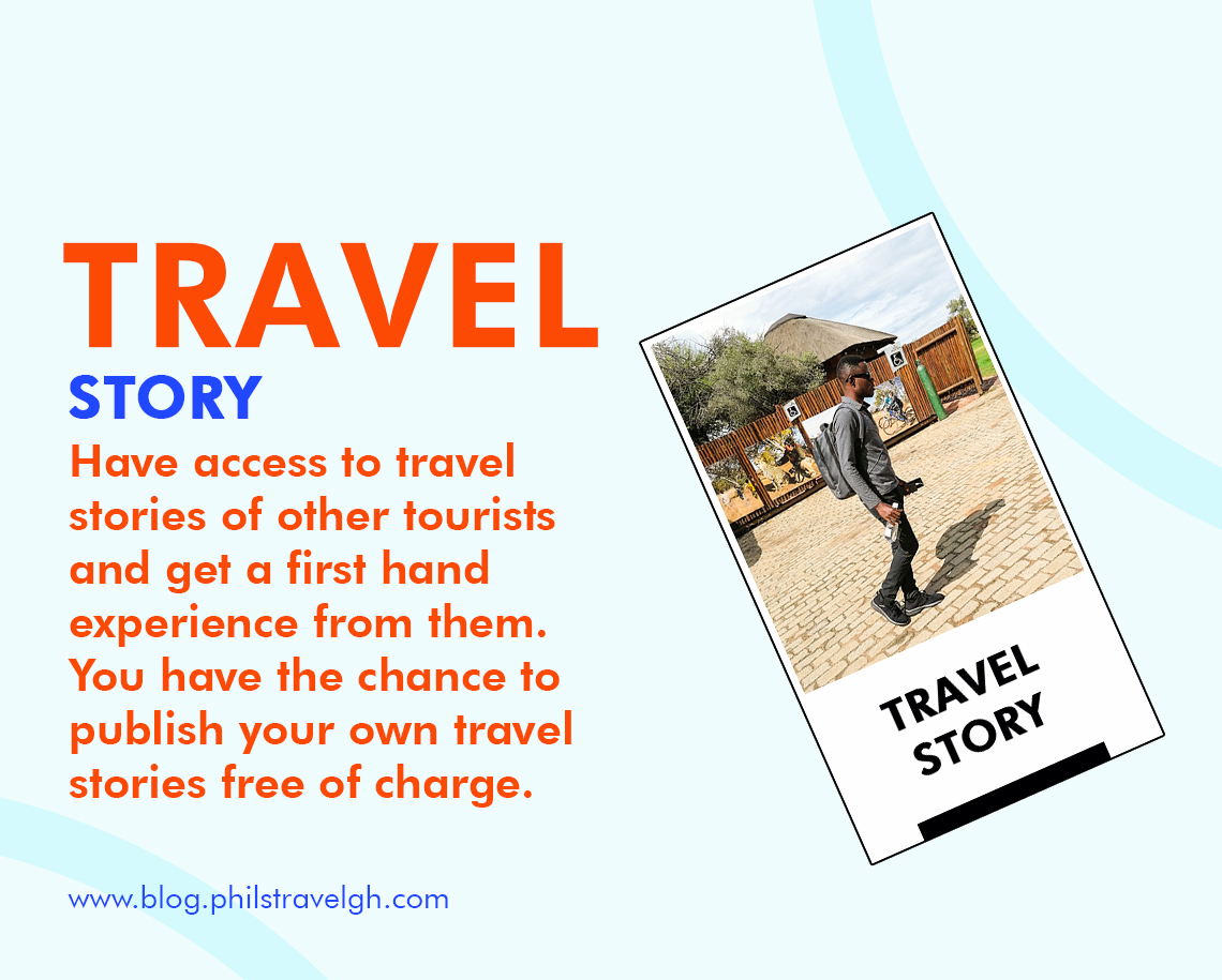 Publish your own travel stories for free and have access to other tourists'.