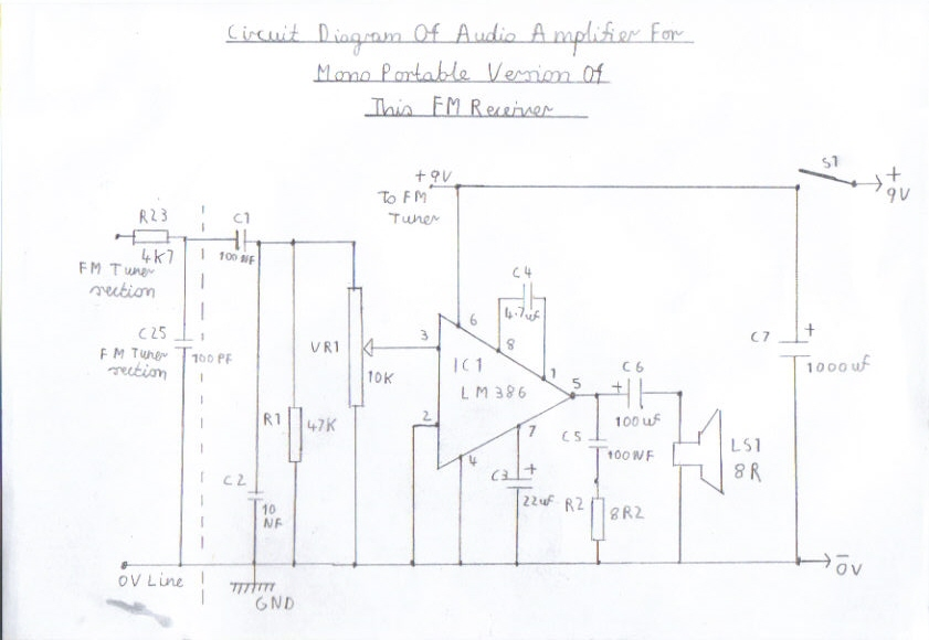 Single Conversion 6 Transistor 10.7 MHZ Pulse Counting