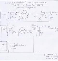 circuit diagram of the am fm pulse counting receiver note this is stage 4 the complete power supply circuit  [ 1169 x 850 Pixel ]