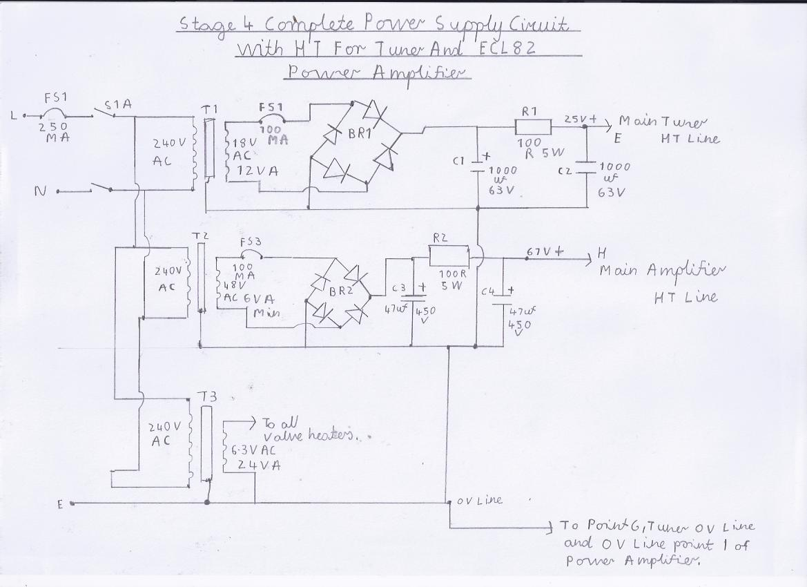 hight resolution of circuit diagram of the am fm pulse counting receiver note this is stage 4 the complete power supply circuit
