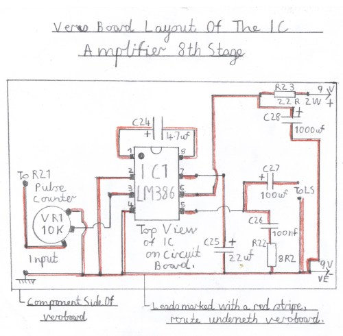 small resolution of wiring diagram of the lm386 audio amplifier this stage must be constructed and tested first