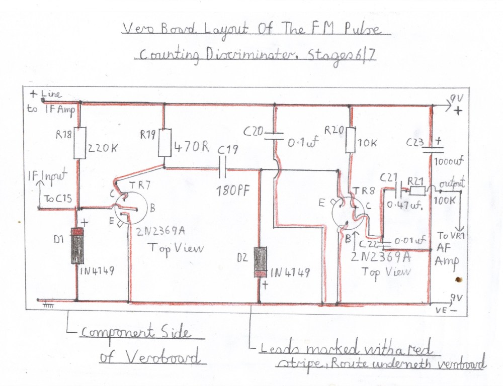 medium resolution of wiring diagram of the pulse counting fm discriminator this stage must be wired and tested after the audio stage is known to work ok