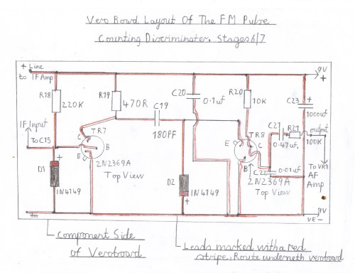 small resolution of wiring diagram of the pulse counting fm discriminator this stage must be wired and tested after the audio stage is known to work ok