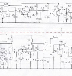printable circuit diagram of the fm tuner please refer to the components list in the text  [ 1816 x 1286 Pixel ]