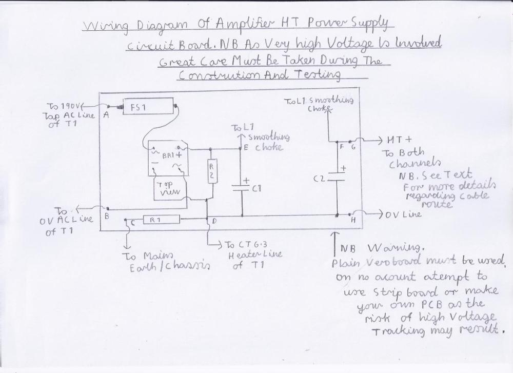 medium resolution of wiring diagram of the power supply circuit board please refer to picture 1 the circuit diagram and components list for more details