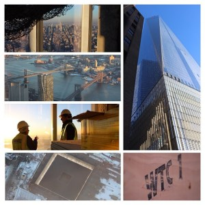 Photos from a private media tour of One World Trade Center