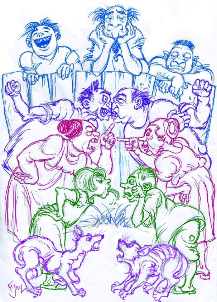 Quash apathy at its roots - August 2013 cartoon
