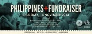 Entertainment for the victims of Typhoon Yolanda