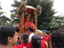 The Sto Niño image from the parish was the procession's main attraction.