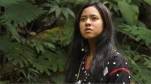 Mara Lopez as K'na, the dreamweaver