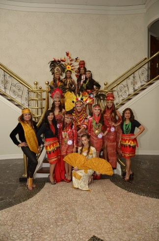 Beauty Quest 2014 candidates and committee members
