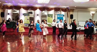 Filipinos from East and West Melbourne unite and dance featuring Samba, Rock n Roll, Chachacha, Bachata, Waltz, American Smooth, Salsa and Hustle/Disco.