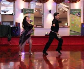 Roberto and Marie dance on a romantic Bolero Rhumba routine.