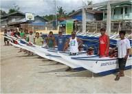 Fishing boats donation to Haiyan victims