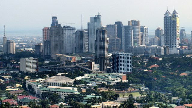 Pasig and Mandaluyong area by Jun Acullador
