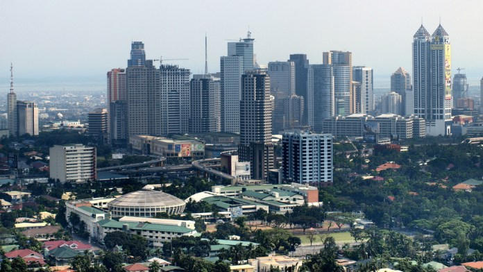 Pasig and Mandaluyong area by Jun Acullador