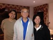Frank Padilla with CFC-FFL Melbourne Servant Leader Boy and Ruby Banaag