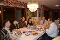 Frank Padilla dines with Elder members of CFC-FFL Melbourne.