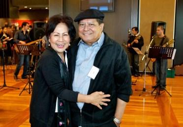Joel Magpayo with wife Lynda Magpayo