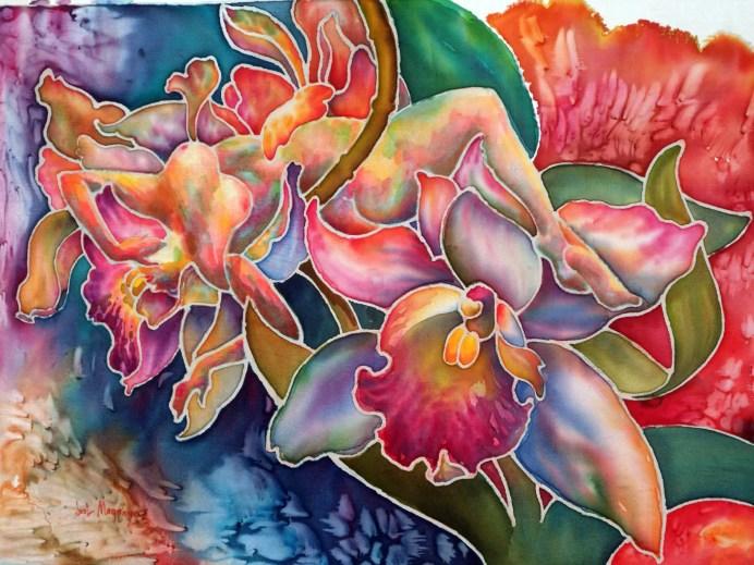 Silk Orchidnymph