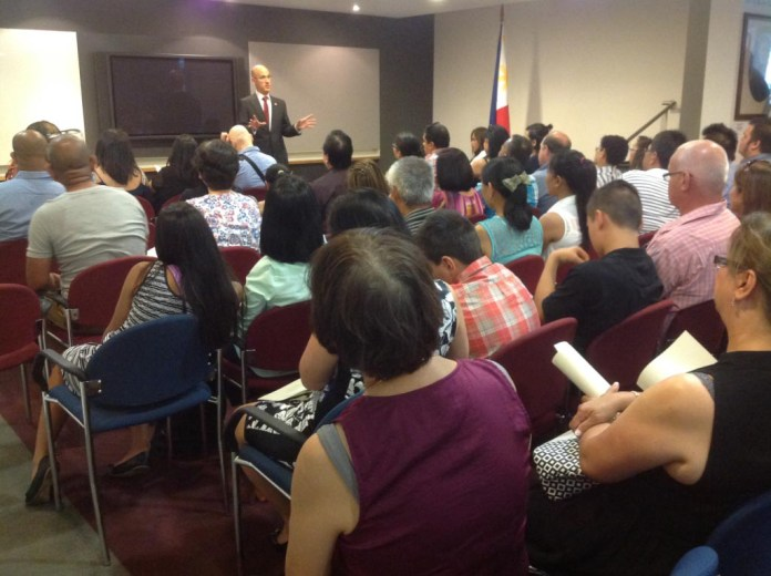 Philippine Honorary Consul to Victoria Felix Pintado discusses the benefits of being dual citizens.