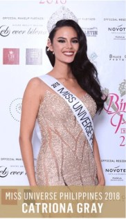 Catriona Gray Bb Pilipinas-Universe 2018 - Photos from Bb. Pilipinas official FB page