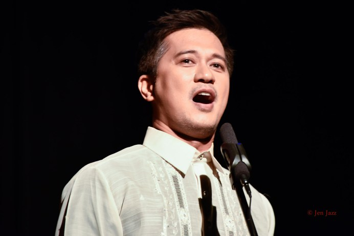 Tenor Miguel Castro at Halo-Halo Festival 2015