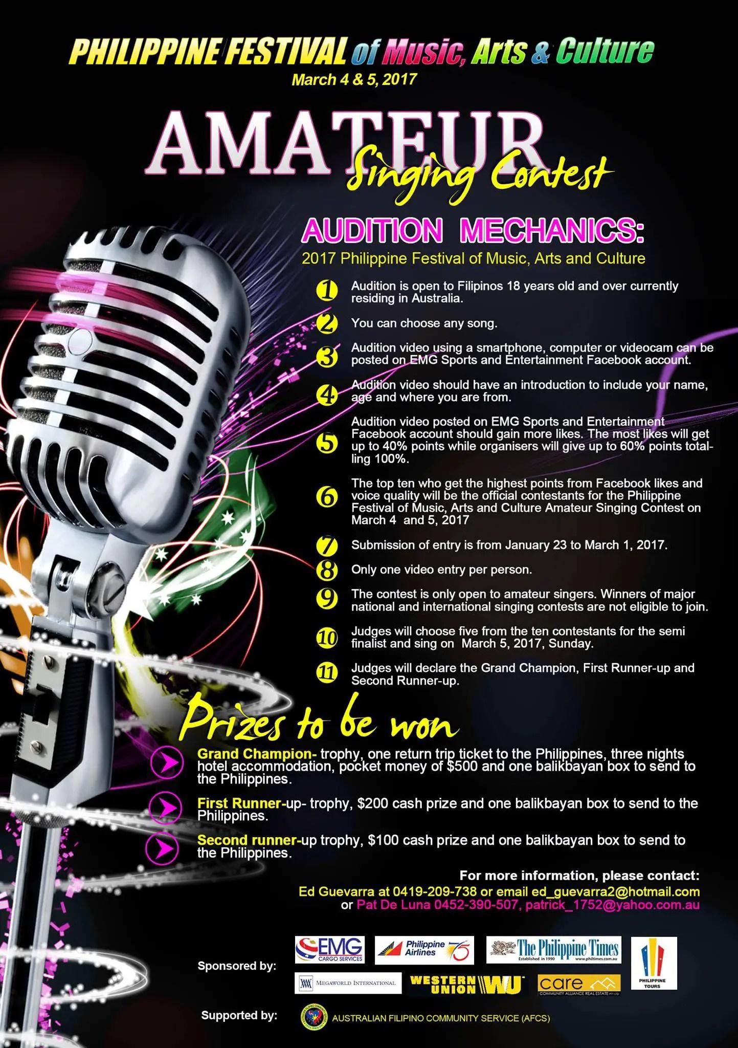 Music video contest cash prizes