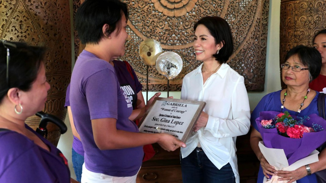 Gabriela recognises Gina Lopez as