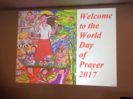 World Day of Prayer in St Jude's Scoresby