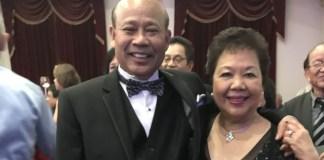 Eddie Atacador with wife Lita