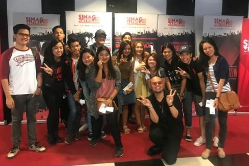 Gala screening with Uni students