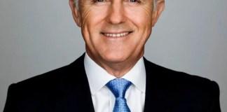 The Hon Malcolm Turnbull MP, Prime Minister of Australia