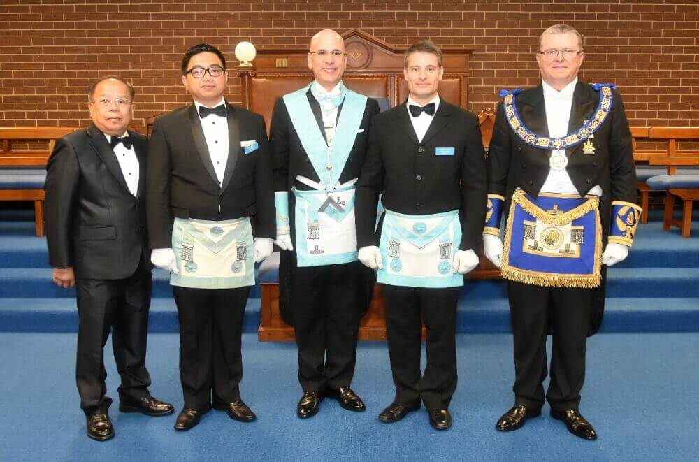 Consul Pintado installed as Master at Sunshine | The