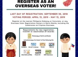 register to vote - comelec