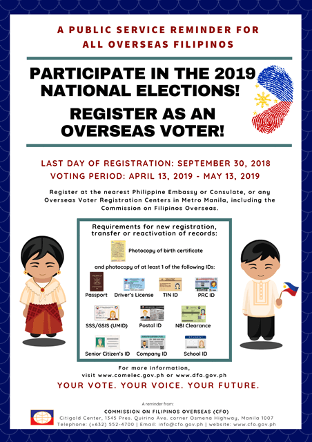 register to vote - comelec