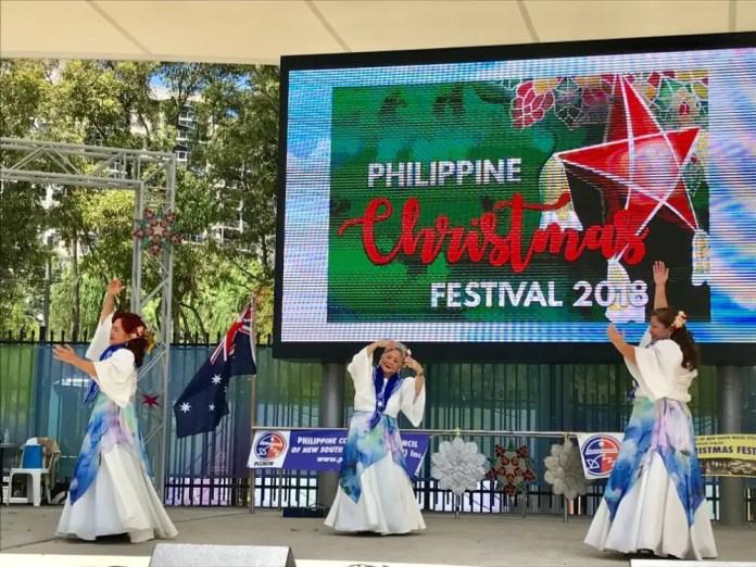 PASSCI Cultural Dancers at Pasko Philippines 10th Nov 2018