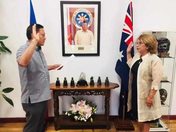 Assistant Honorary Consul Nini Jover