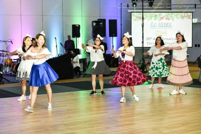 Rosanna Yao and friends performed a surprise dance number.