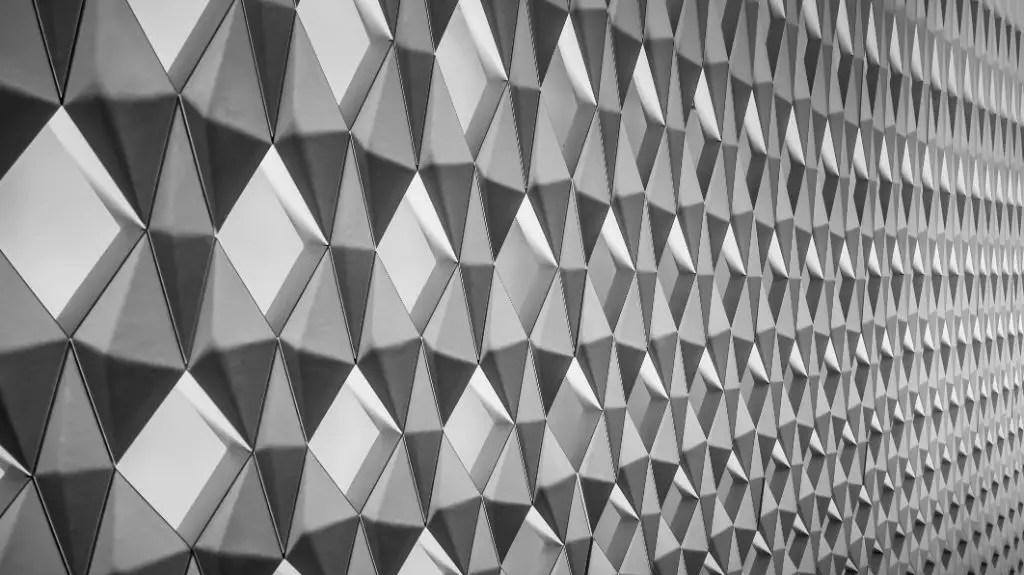 Diamond patterns Perfect Imperfection