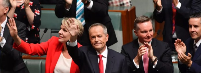 Bill Shorten's budget reply speech was aimed at middle and lower income earners. AAP/Mick Tsikas
