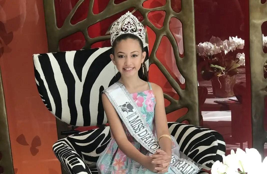 Miss Junior Diamond Australia 2019 Serenity Charles