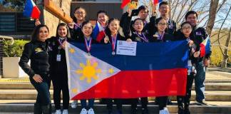 Winning 2019 Philippine Robotics Team Grace Christian School
